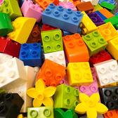 積木玩具 稱斤散件男孩子女孩兒童拼裝早教玩具益智大顆粒散裝