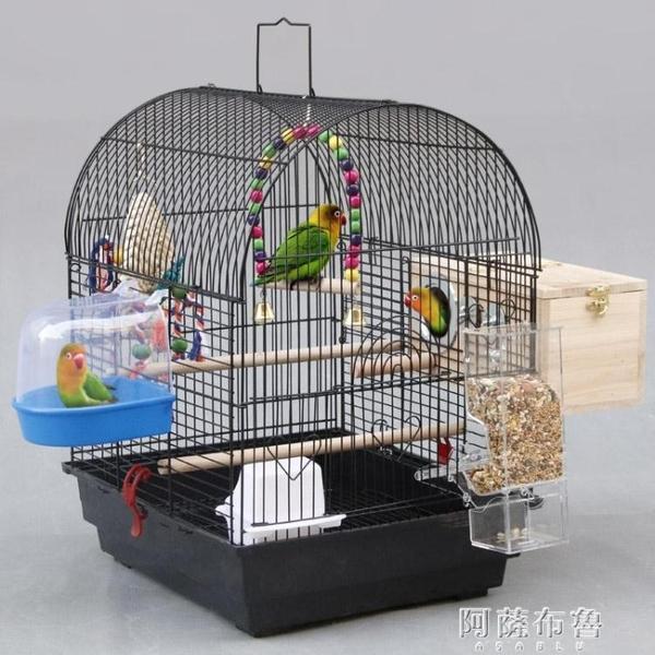 鳥籠 粵迪 虎皮牡丹鸚鵡籠子大號寵物籠別墅鳥籠玄鳳鸚鵡繁殖籠1401 MKS阿薩布魯