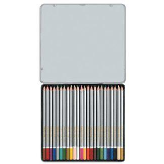 【奇奇文具】雄獅 SIMBALION C2400/8 塗頭色鉛筆 (24色/鐵盒)