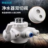希庫分流器適用於安利凈水器益之源水龍頭分水器轉換閥雙切換開關