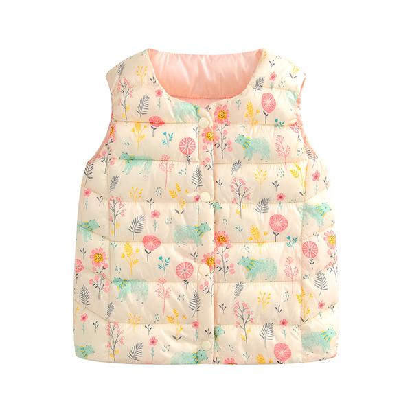 衣服新款兒童羽絨棉馬甲寶寶男童女童背心嬰兒內膽秋冬季坎肩