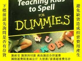 二手書博民逛書店Teaching罕見Kids to Spell for Dumm