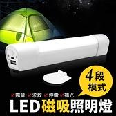 【G1011】《USB充電!磁力吸附》LED磁吸照明燈 行動照明燈 攝影補光燈 超亮手電筒 行動燈管