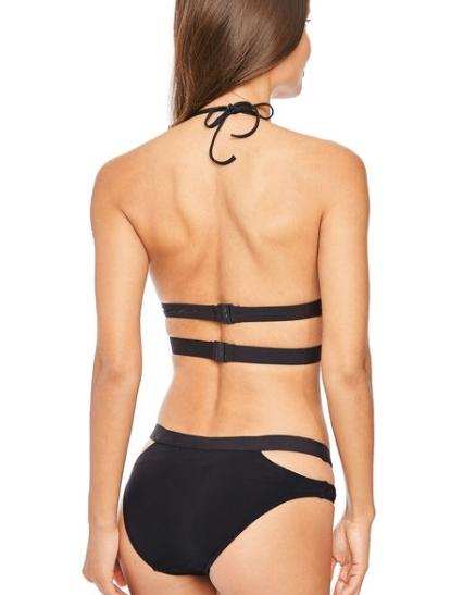 歐美名家大尺寸夏季比基尼海邊泳裝束身遮肚保守泡溫泉游泳衣:fig