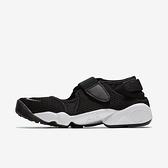 Nike Wmns Air Rift Br [848386-001] 女鞋 運動 休閒 忍者鞋 魔鬼氈 涼鞋 黑 白