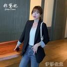 外套 西裝外套女春季韓版英倫風收腰顯瘦小個子休閒西服上衣氣質