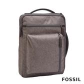 FOSSIL BUCKNER 行動族尼龍信差電腦包-灰色 MBG9484064