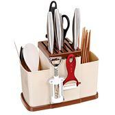 刀架刀座加厚廚房用品刀架刀具架家用廚房刀具置物架廚房刀架刀座筷子架 小明同學