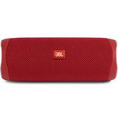[9美國直購] JBL FLIP 5 揚聲器 Waterproof Portable Bluetooth Speaker - Red (New Model)
