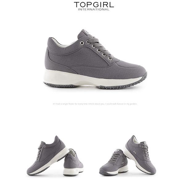 TOP GIRL 減壓輕盈休閒鞋-深灰