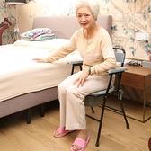 老年人坐便椅家用殘疾人移動馬桶椅坐便器可折疊孕婦老人廁所椅子 夢藝
