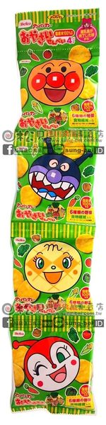 《松貝》栗山麵包超人蔬菜米果4連40g【4901336100654】bd37