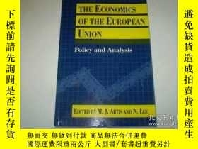 二手書博民逛書店The罕見Economics Of The European Union: Policy And Analysis