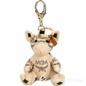 MCM Visetos Zoo Pig 小豬造型吊飾鑰匙圈(米色) 1920235-32