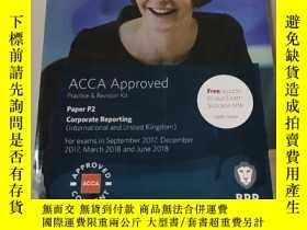 二手書博民逛書店ACCA罕見Approved practice and revision kit Paper p2:ACCA執業與