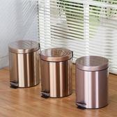 85折不銹鋼垃圾桶 腳踏歐式 廚房客廳開學季