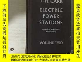 二手書博民逛書店ELECTRIC罕見POWER STATIONS 電力站 第2卷