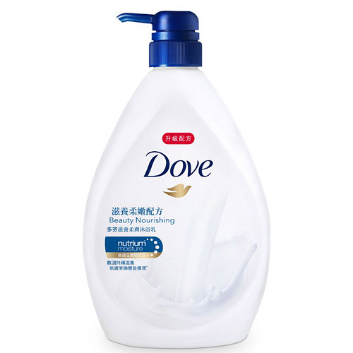 ★超值6件組★多芬Dove滋養柔膚沐浴乳-滋養柔嫩1000ml【愛買】
