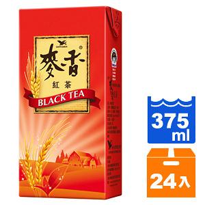 統一 麥香 紅茶 375ml (24入)/箱【康鄰超市】