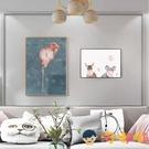 兒童房裝飾畫免打孔掛畫客廳遮擋配電箱開關壁畫【淘嘟嘟】