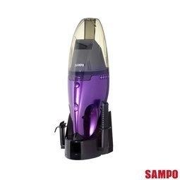 免運費 SAMPO 聲寶 乾濕兩用 手持 充電 吸塵器 EC-SA05HT
