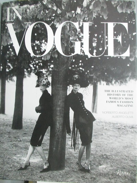 【書寶二手書T2/攝影_WFC】In Vogue: An Illustrated History of the Worl