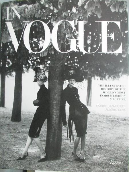 【書寶二手書T1/攝影_WFC】In Vogue: An Illustrated History of the World s...