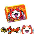 【日本進口正版】 妖怪手錶 吉胖喵 票夾零錢包 卡片包 收納包 皮質 - 129461