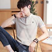 短袖T恤帶領體恤男裝翻領polo衫