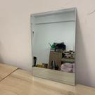 高清浴室鏡子貼牆廁所壁掛洗手間化妝鏡子玻...