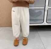 男童長褲-童裝兒童冬裝長褲新款寶寶雙面法蘭絨褲男童洋氣休閒褲 喵喵物語