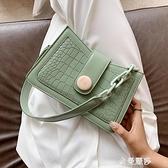 網紅復古小包包女包流行新款潮時尚百搭單肩腋下包女士側背包 極簡雜貨