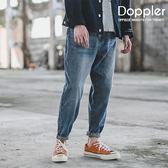 牛仔褲 日系復古刷色水洗單寧牛仔褲 修身剪裁【TJGPDK030】現貨+預購