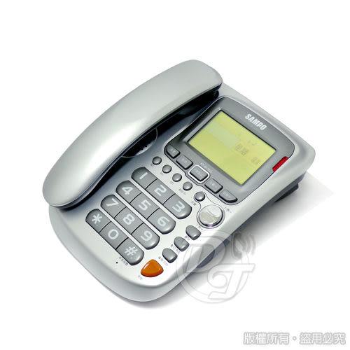 《一打就通》SAMPO 聲寶來電顯示有線電話 HT-B1102L