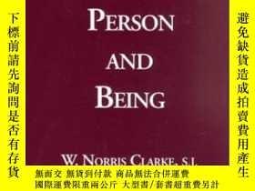 二手書博民逛書店Person罕見And Being-人與存在Y436638 W. Norris Clarke Marquett