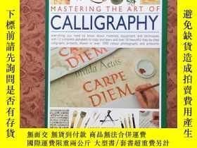 二手書博民逛書店Mastering罕見the Art of Calligraph