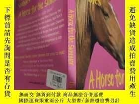 二手書博民逛書店sandy罕見lane stables a horse for the summer 桑迪·萊恩為夏天養了一匹馬.