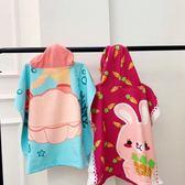 卡通兒童連帶帽浴巾 寶寶纖維斗篷吸水沙灘披風浴袍可穿 吸水速幹 滿天星