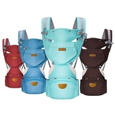 KINGROL/DIGUMI可收納功能 嬰兒雙肩背帶前抱式腰凳揹帶-JoyBaby