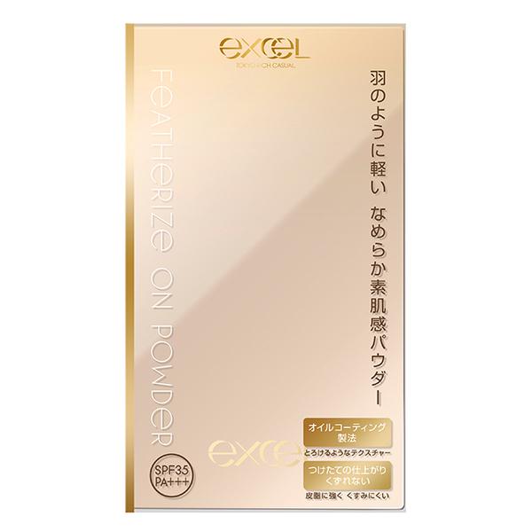 EXCEL裸透美肌輕粉餅01明亮膚 9g