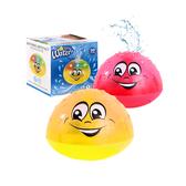 嬰兒洗澡電動自動感應噴水球 寶寶浴室戲水玩具-321寶貝屋
