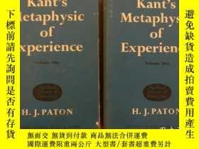 二手書博民逛書店Kant s罕見Metaphysic of Experience