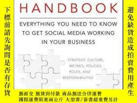 二手書博民逛書店The罕見Social Media Management Handbook: Everything You Nee
