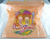 【震撼精品百貨】彼得&吉米Patty & Jimmy~塑膠束口提帶縮口背袋『橘色衝浪』