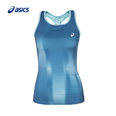(B4) ASICS亞瑟士 女 運動背心 印花背心 154418-1250 女網球背心 [陽光樂活]