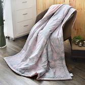 【夏末出清】義大利La Belle《伊莎貝拉》純棉吸濕透氣涼被(5x6.5尺)