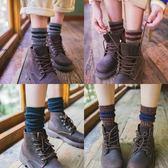韓版襪子女秋冬季堆堆襪韓國日系學院風中筒襪粗線加厚長筒個性潮