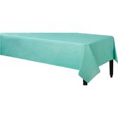 塑膠長桌巾-蒂芬妮藍