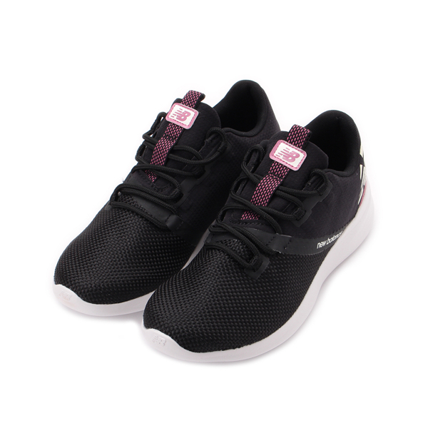 NEW BALANCE CUSH+ DISTRICT RUN v1 輕量跑鞋 黑紫紅 WDRNTB1 女鞋