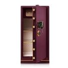 保險櫃 CRN德國希姆勒保險柜1米大型家用辦公入墻指紋100cm高全鋼保險箱 快速出貨
